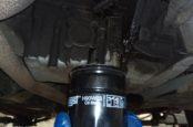 Замена масляного фильтра двигателя